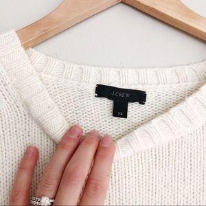 J. Crew Sweaters - J. Crew Wool Knit Crew Neck Tunic Sweater E5984